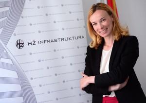 29.5.2015., Zagreb -  Predsjednica Uprave HZ Infrastrukture Renata Susa, prica o HZ nekretninama koje ce na bubanj ili u zakup. Photo: Marko Prpic/PIXSELL